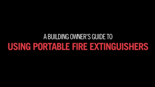 Fire Extinguisher Training for Building Owners