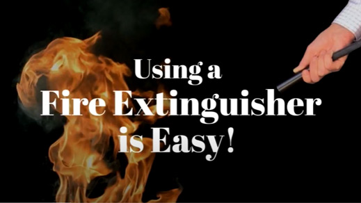 Using a Fire Extinguisher is Easy Here's How …