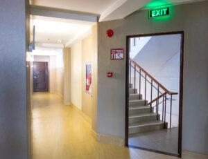 exit stairway