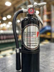 Fire Equipment Manufacturers Association Life Safety Award